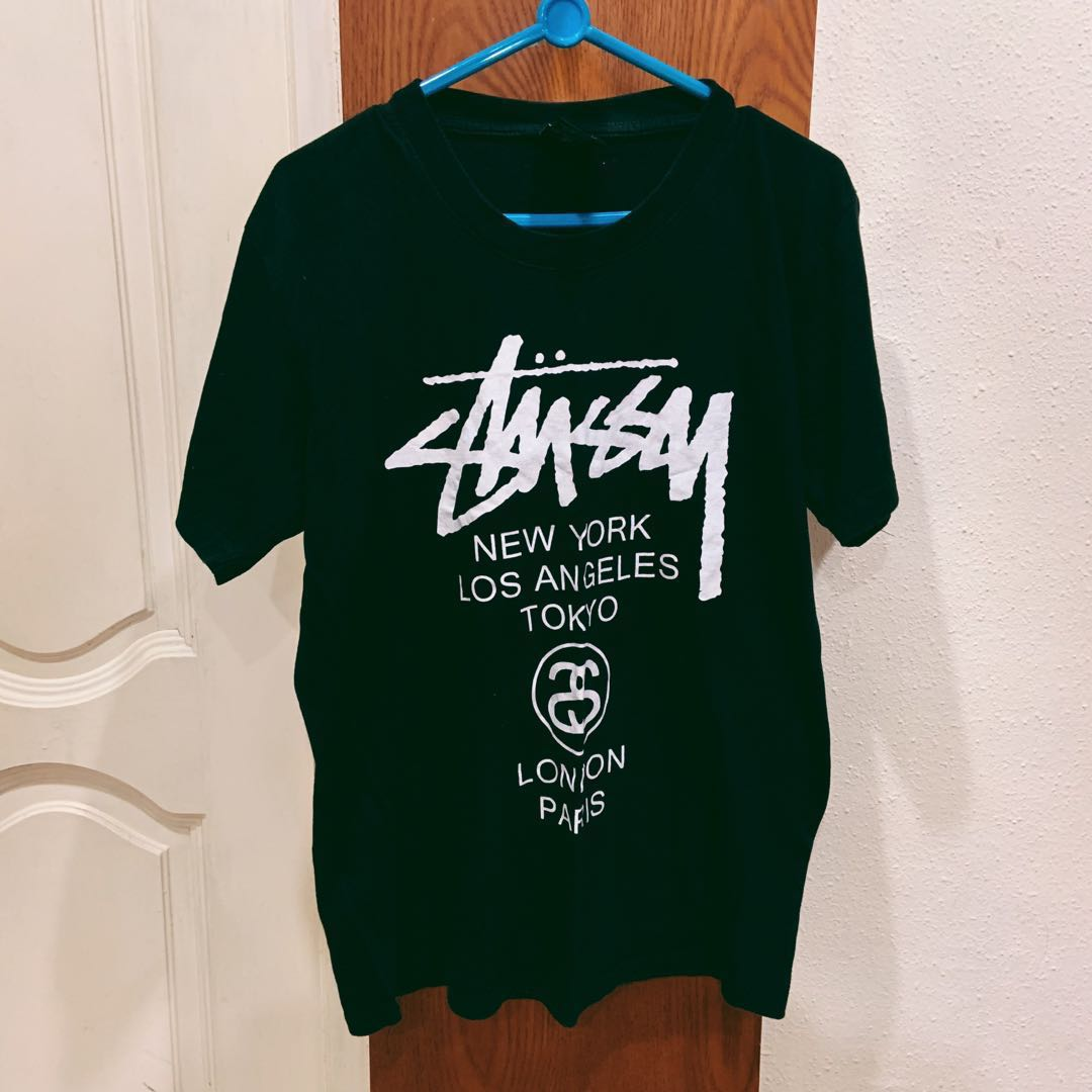 7969f2c51 Authentic Stussy Tee, Men's Fashion, Clothes, Tops on Carousell