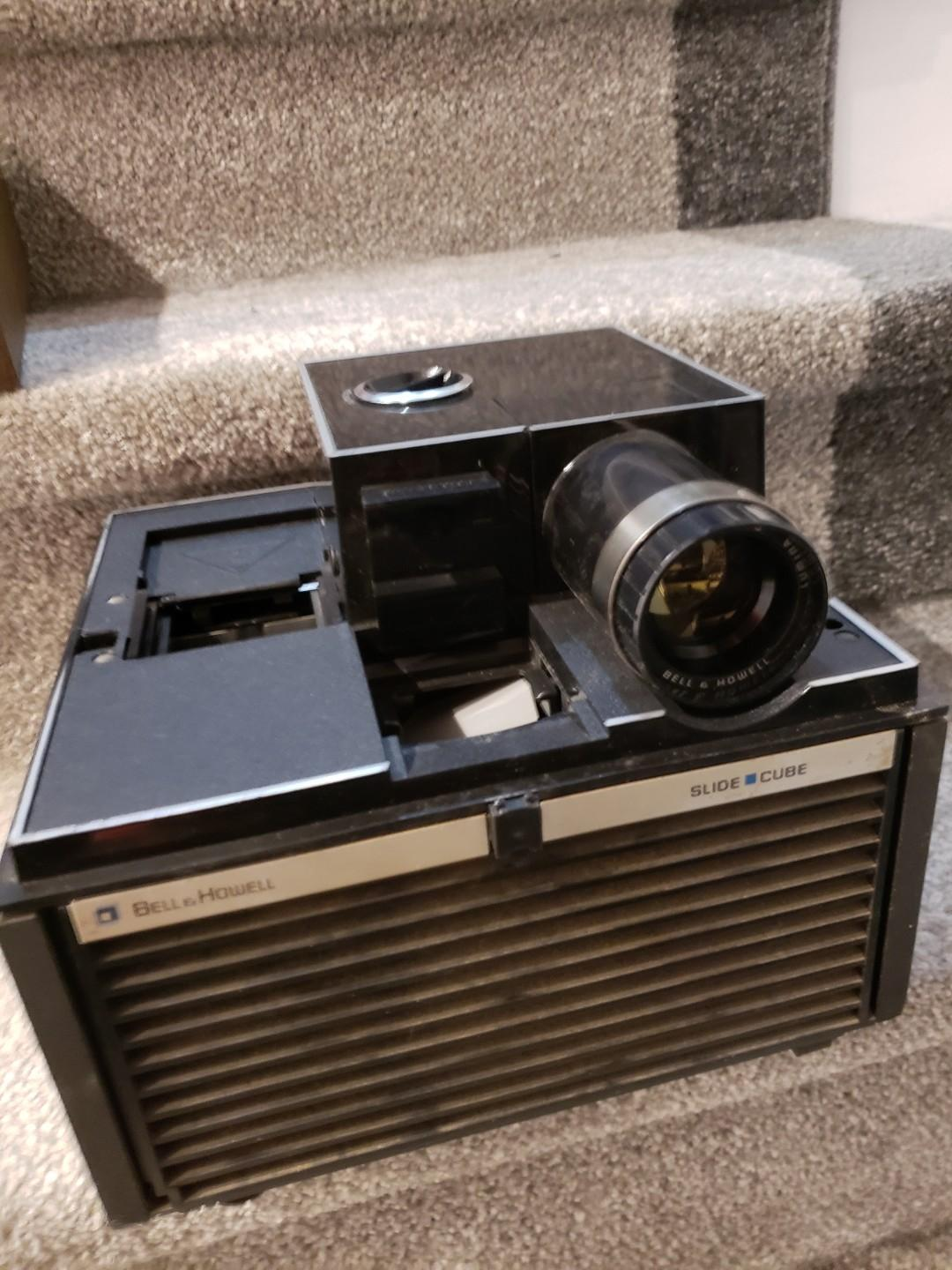 Ben and Howell Slide Projector