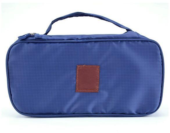 (Blue) Multi function Travel Bag Cosmetic Toiletry Bag Underwear Bag