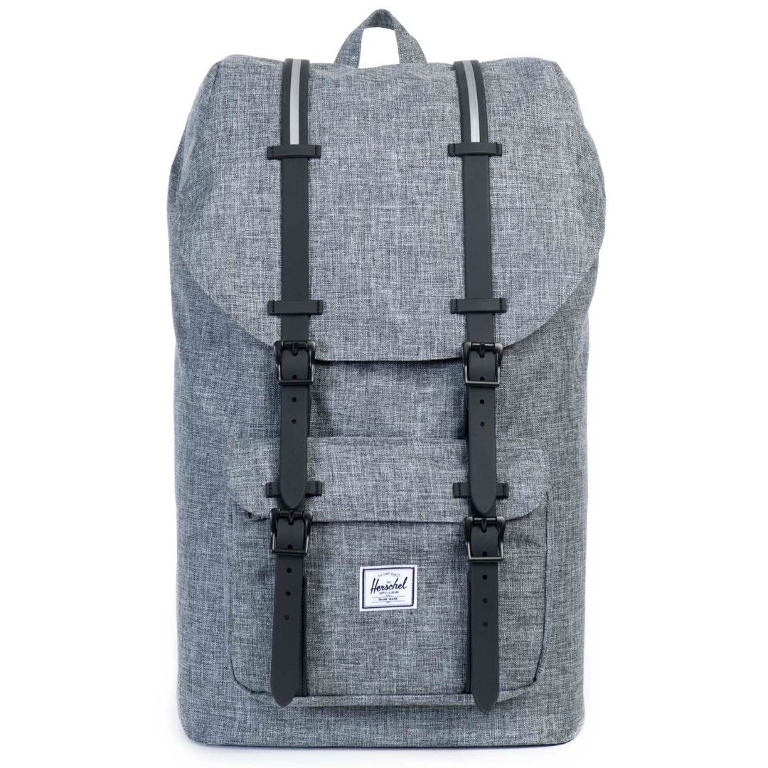7f3e1ffe7f BNIB) Herschel Little America Backpack 25L (Grey)