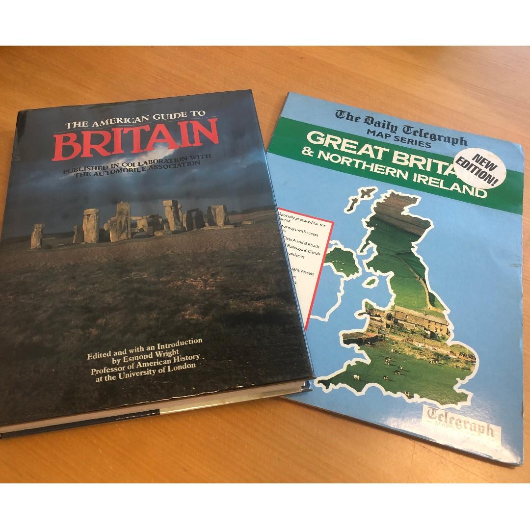 Map Of Ireland Book.Britain Plus Free Map