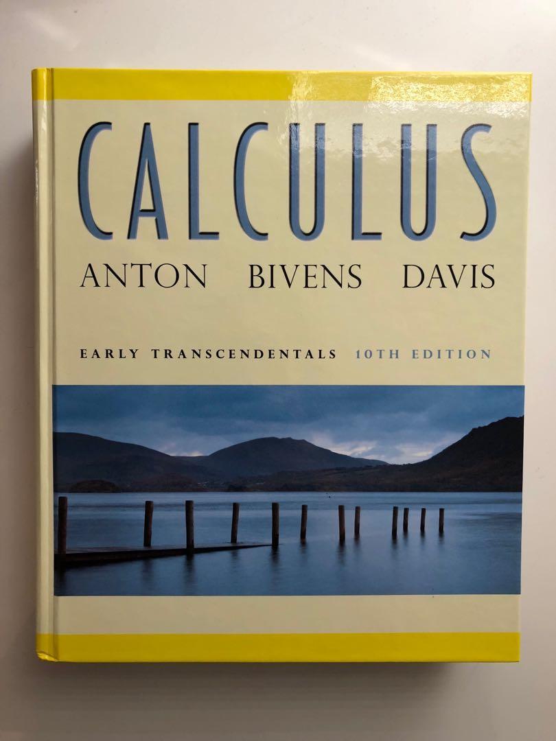 Calculus Textbook (10th edition) - Anton, Bivens, Davis