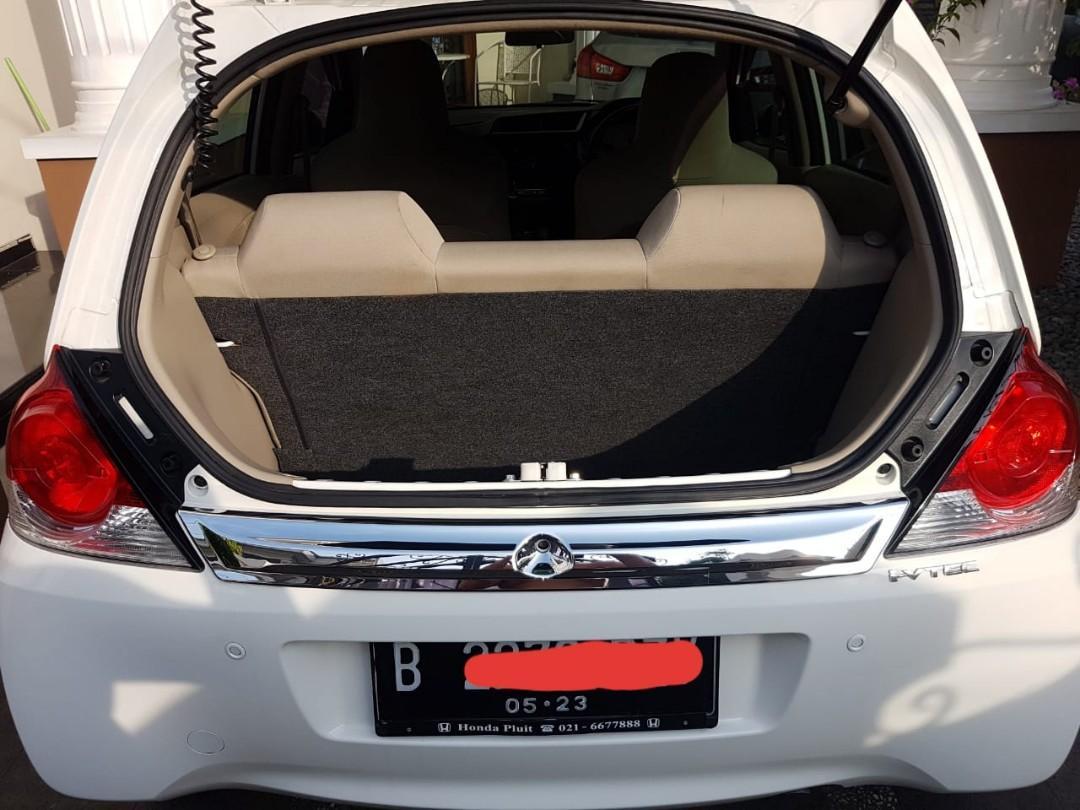 CASH Honda Brio Satya E A/T 2018 Perfect Condition