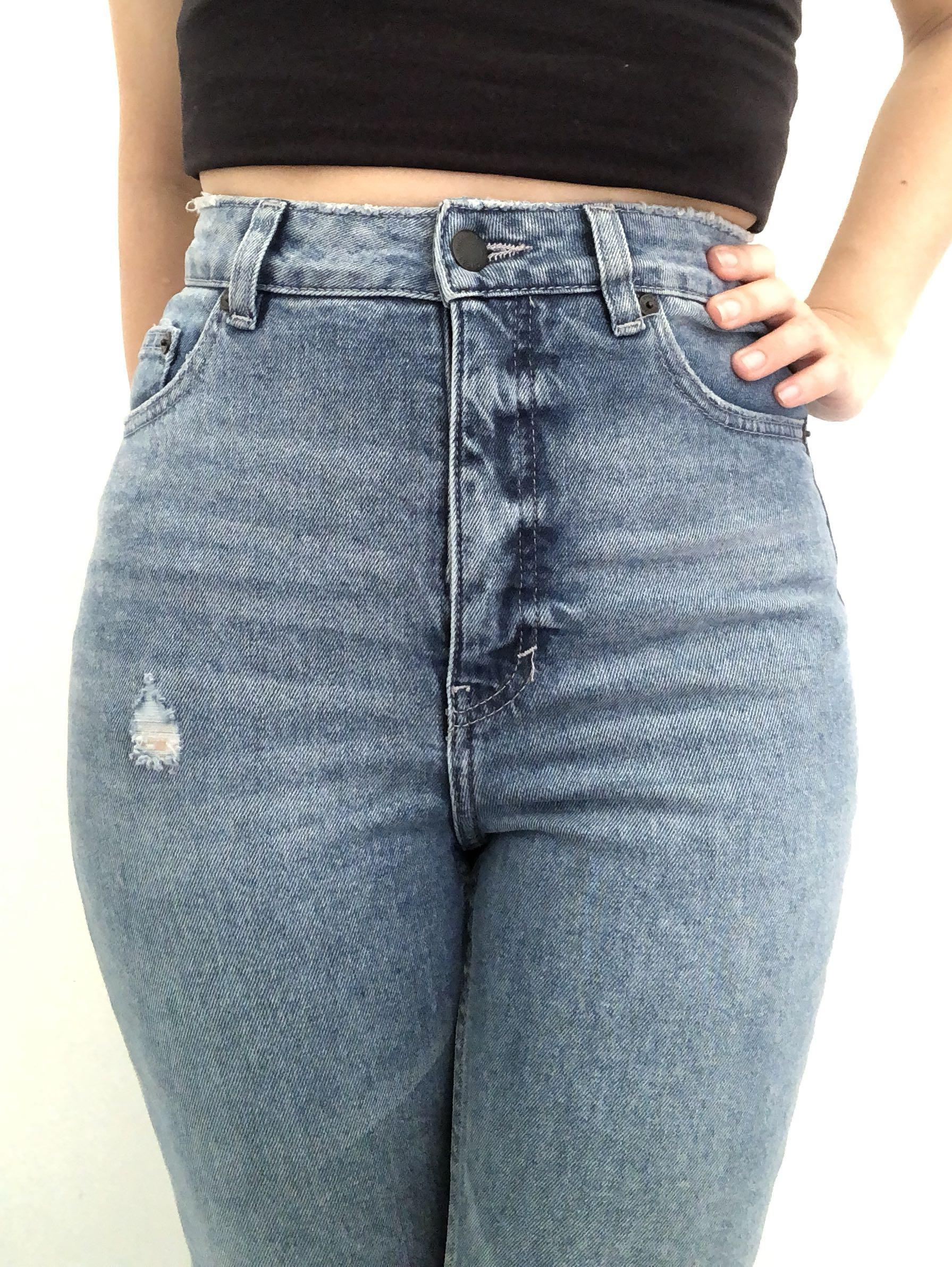 Cheap Monday High Waisted Skinny Denim Jeans Size 8