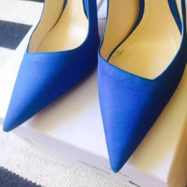 a3e4141bbb christian dior songe pointed pumps/ heels, Luxury, Shoes on Carousell