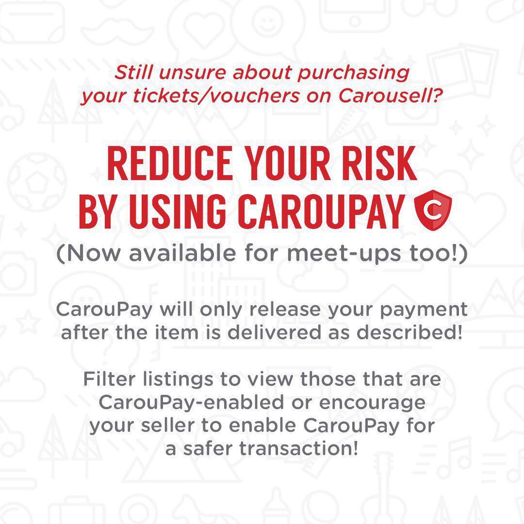 Concert Tickets and Vouchers Checklist!