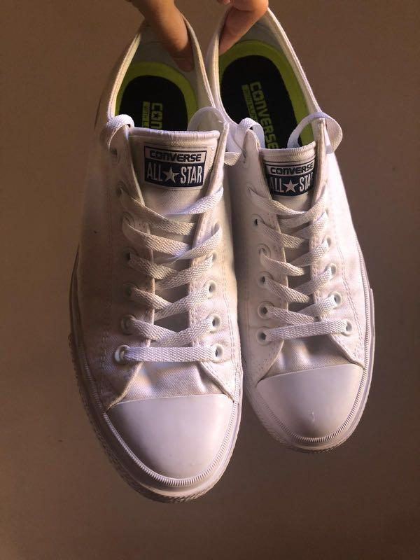 Converse Chuck Taylor II All White Sneakers