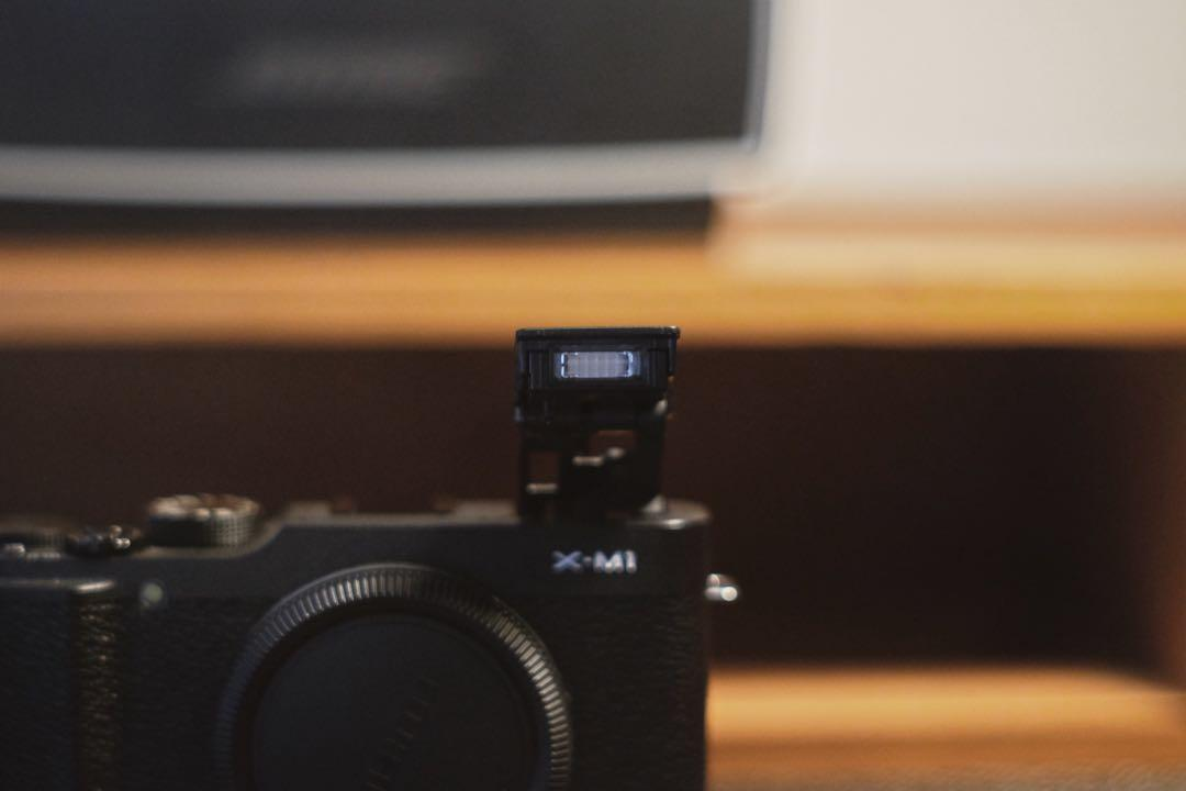 Fujifilm X-M1 with Kit Lens