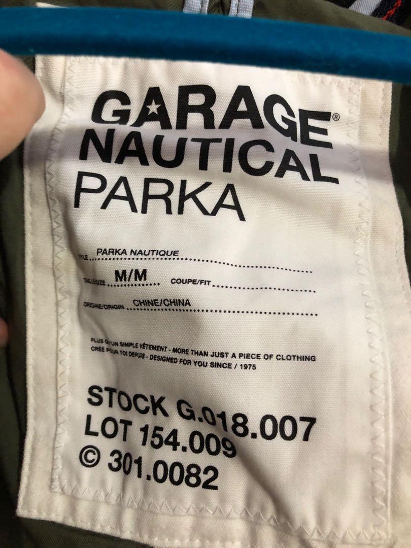 Garage nautical parka size medium