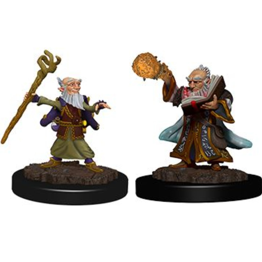 Gnome Wizard Male - Dungeons & Dragons Miniatures