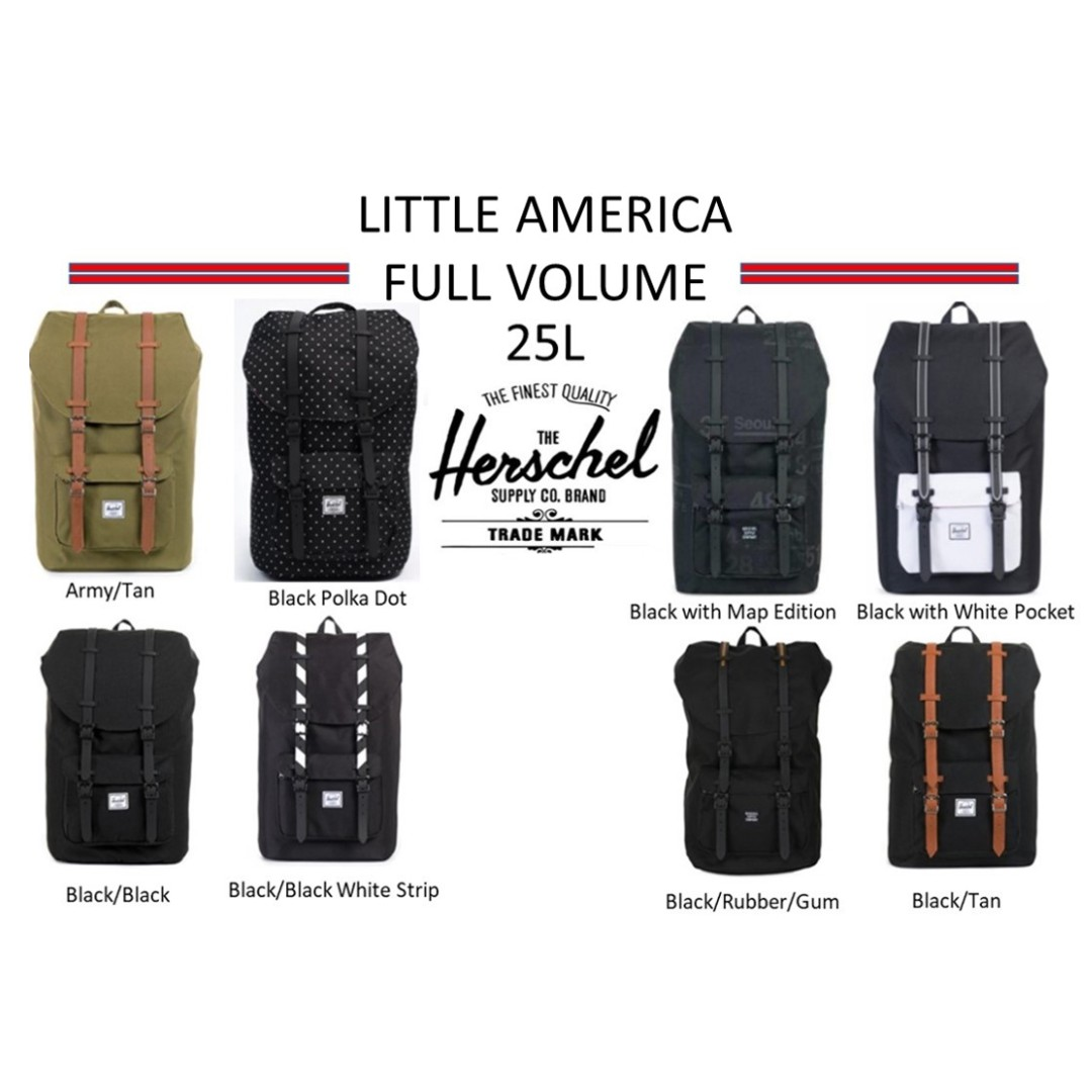 47bccde7f60 Herschel Supply Little America Full Volume Backpack   Herschel ...