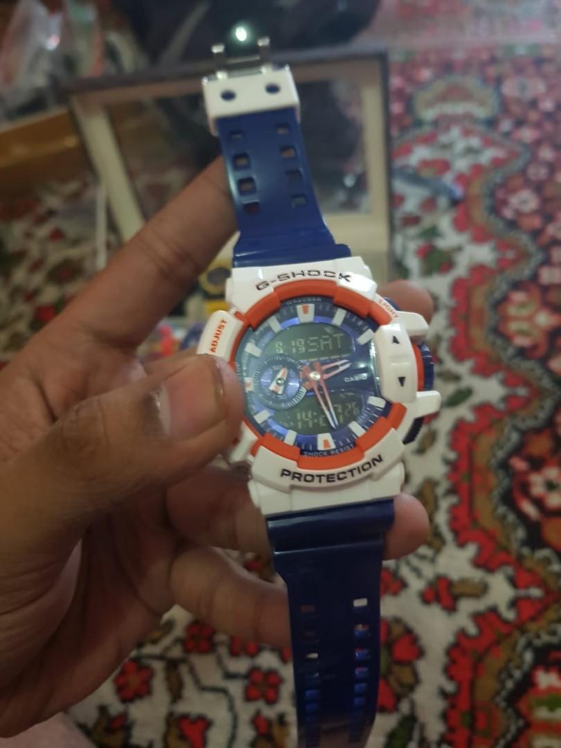 jam G-Shock GA - 400 ORANGE limited edition