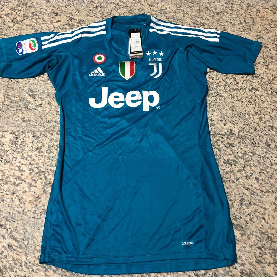 3b3dc2ec4b1 Juventus FC Player Version Goalkeeper Jersey, Sports, Sports Apparel ...