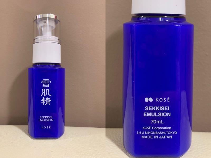 Kose Sekkisei Emulsion - 70ml (w/o box)
