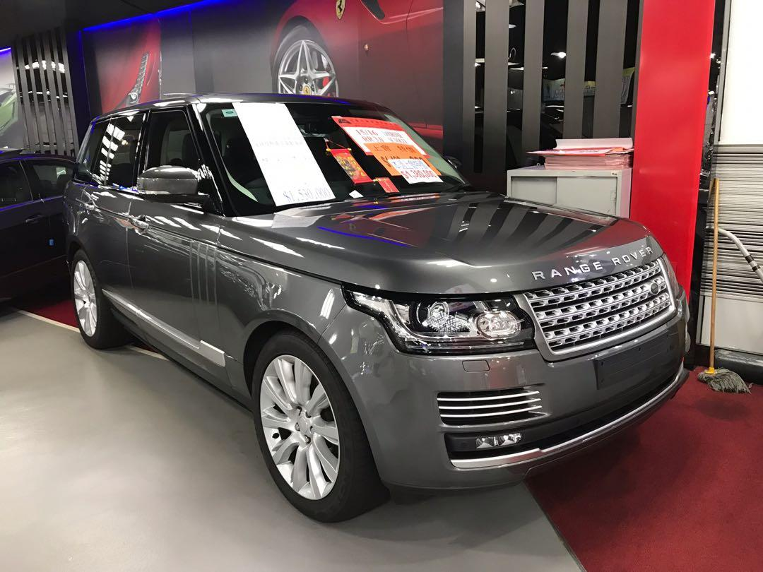LAND ROVER RR 3.0 SC VOGUE 2015