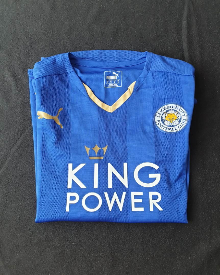 detailed look 214a3 5d5c0 Leicester City Jersey with Mahrez nameset