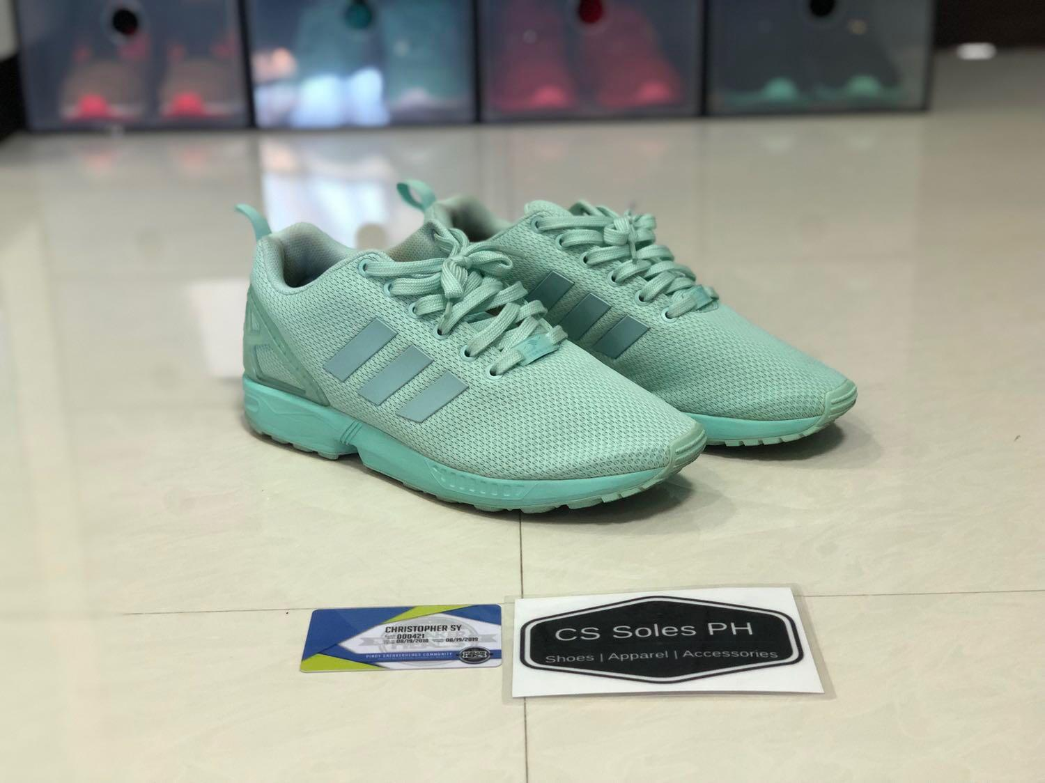 the latest 20ca7 91f09 Miadidas ZX flux all mint on Carousell