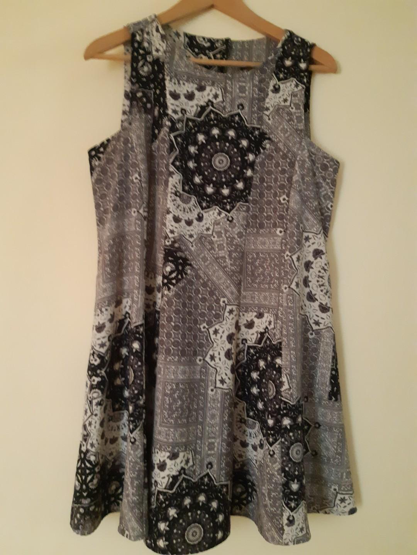 Monochrome Zara dress
