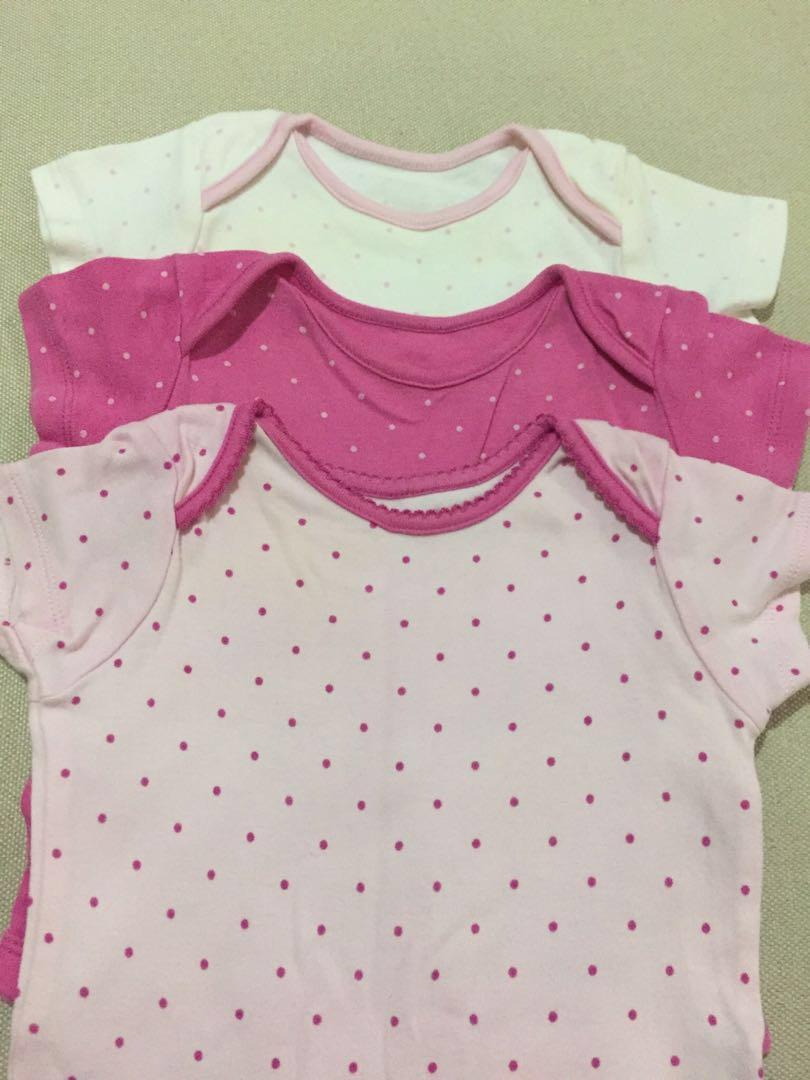 d8430655c Mothercare Baby Girl Romper x 3
