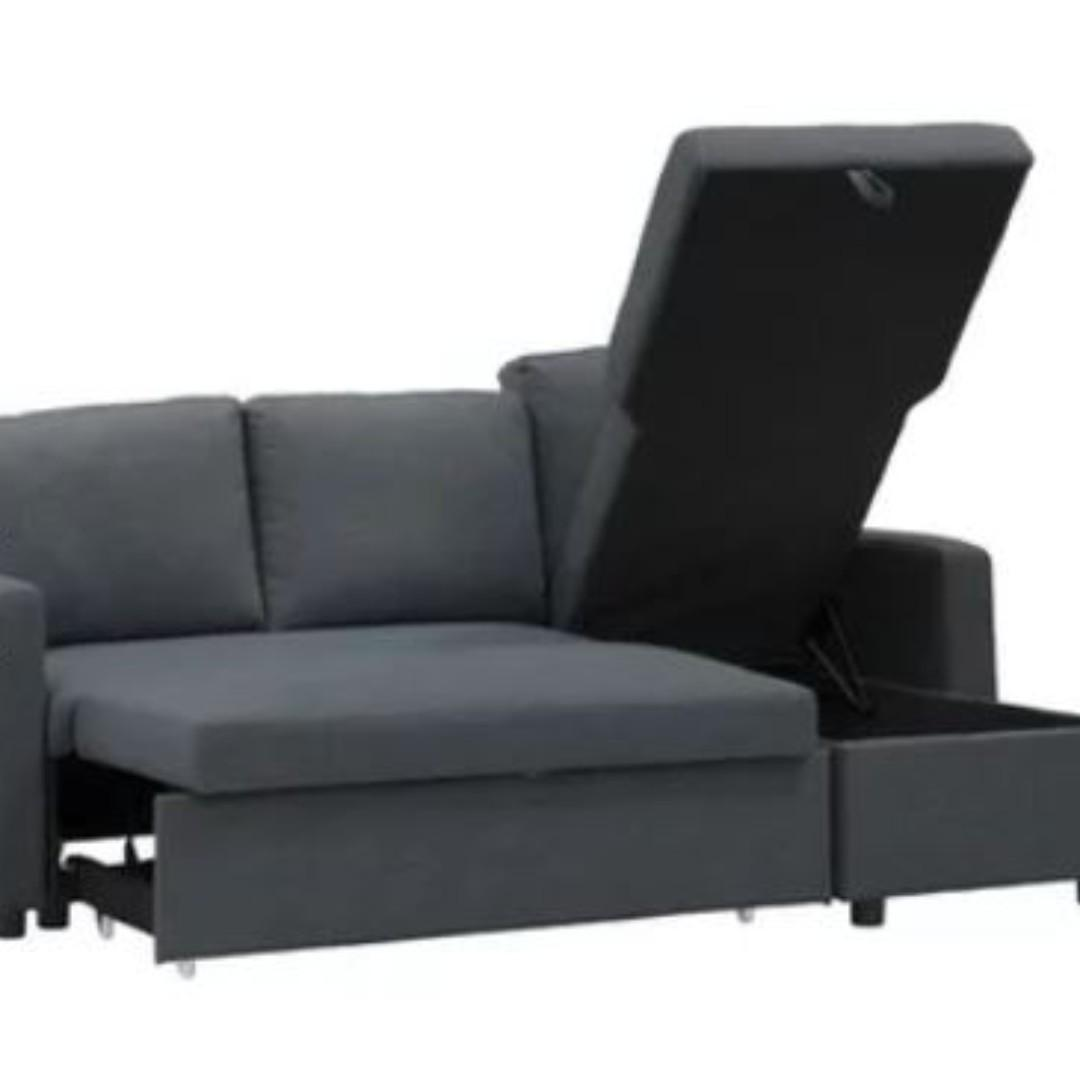 Picture of: Nearly New Hipvan L Shaped Sofabed Furniture Sofas On Carousell