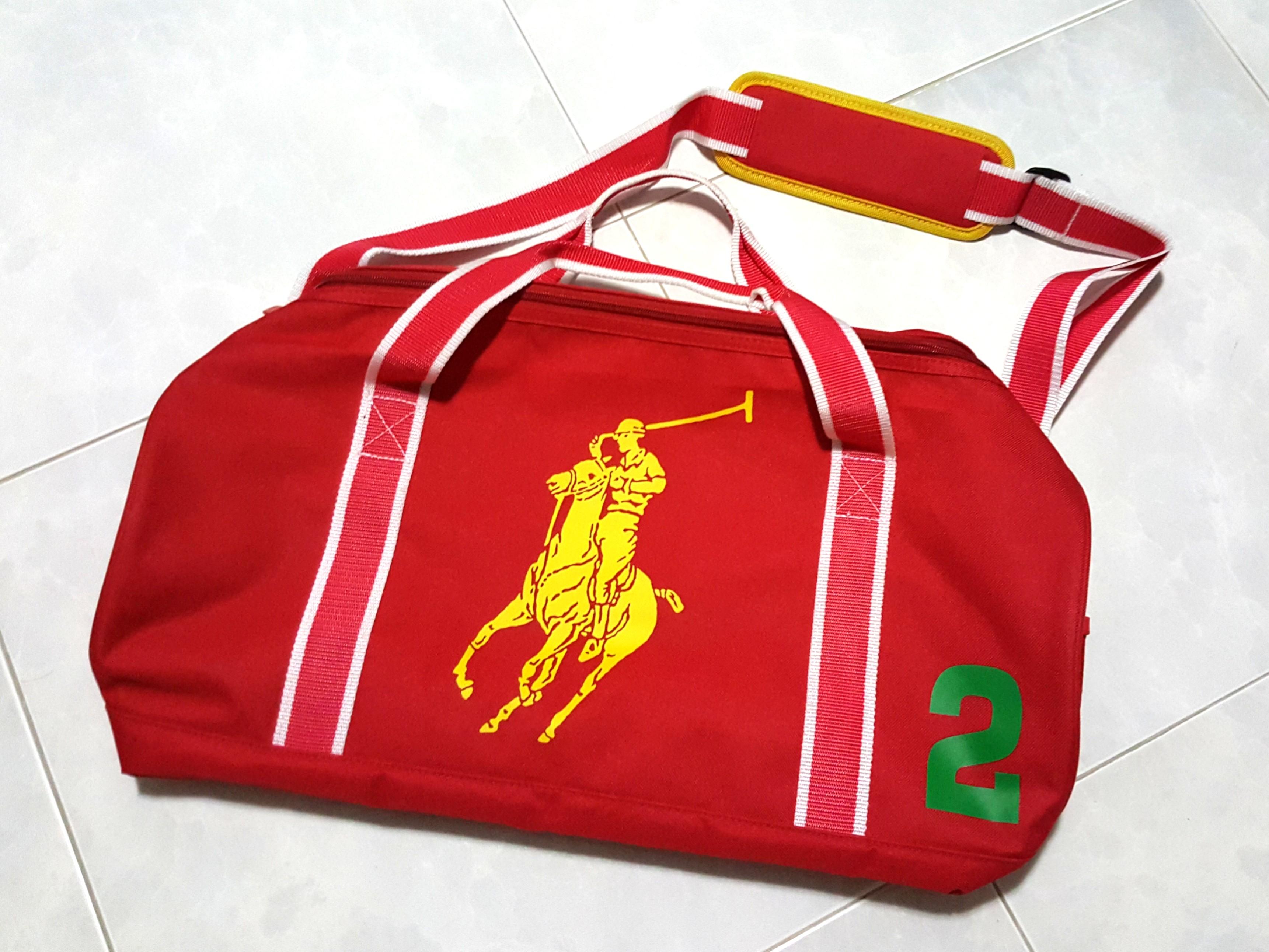 22c22900da73 Polo Ralph Lauren Duffle Gym Travel Bag