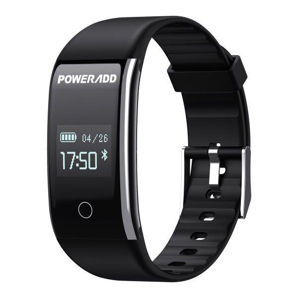 Poweradd Fitness Tracker, IP67 Waterproof Activity Tracker