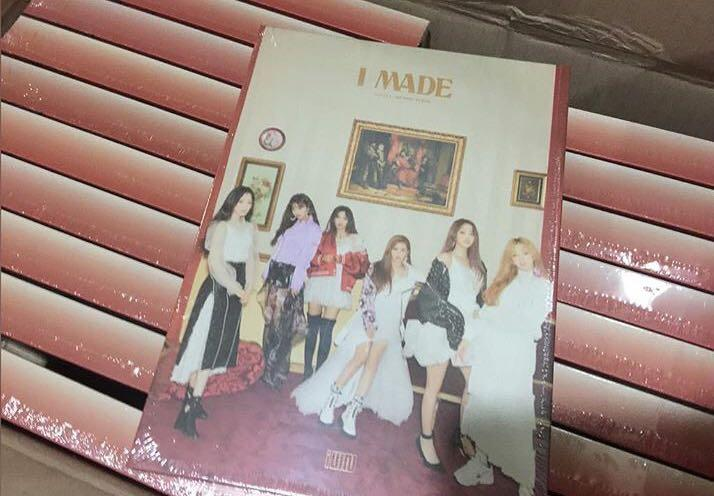 [Preorder] (G)I-DLE 2nd Mini Album - I MADE CD + Poster
