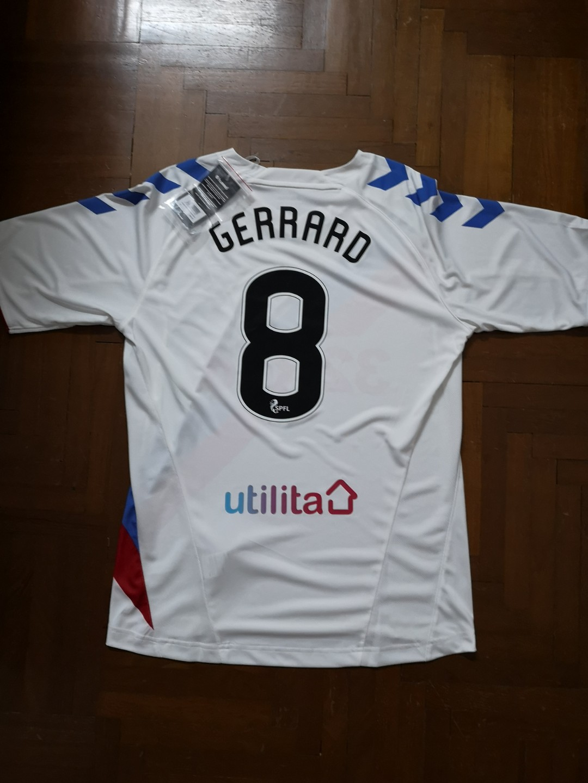8ed695083 Rangers Away Jersey with Steven Gerrard not Liverpool