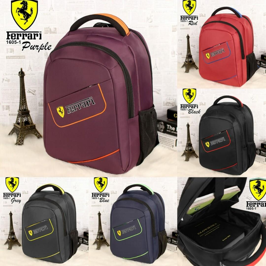 Ransel 1605-1# Canvas Waterproof Quality Semi Ori#  29×15×38  👍🏻👍🏻👍🏻Buruaannn Stok Terbatas