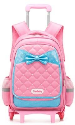 Singapore Seller) Classic Six-Wheels Trolley School Bag (Pearl on ...