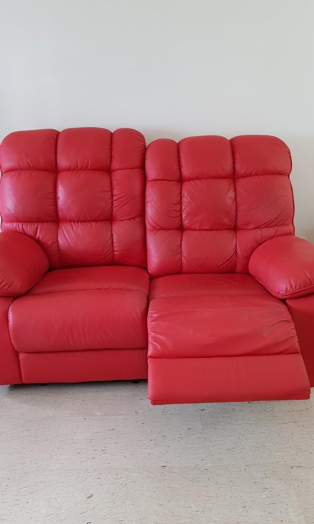 Sofa Recliner Furniture Sofas On Carousell
