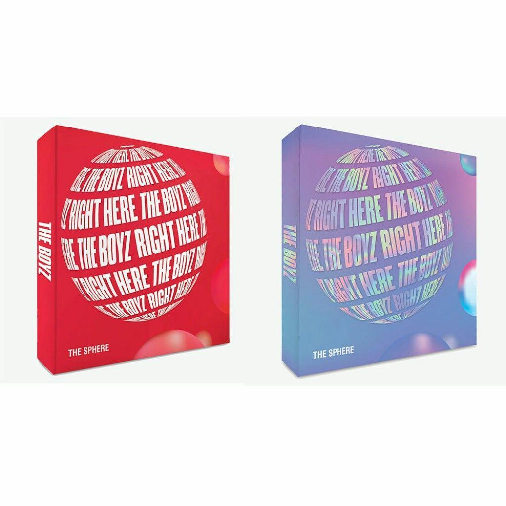 [THE BOYZ] THE SPHERE (REAL / DREAM Ver.) Single Album Vol.1