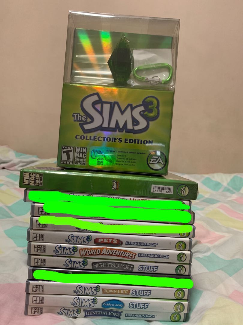The Sims 3 Base Game/Expansion Pack/Stuff Pack, Toys & Games, Video