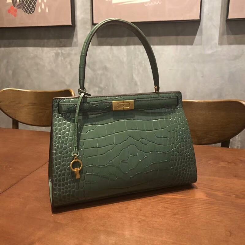 5b7a6d96b43 Tory Burch Lee Radziwill Satchl Handbag