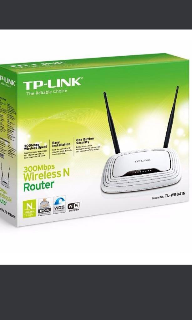 TP-Link WR841N 300Mbps Wifi Router, Electronics, Others on