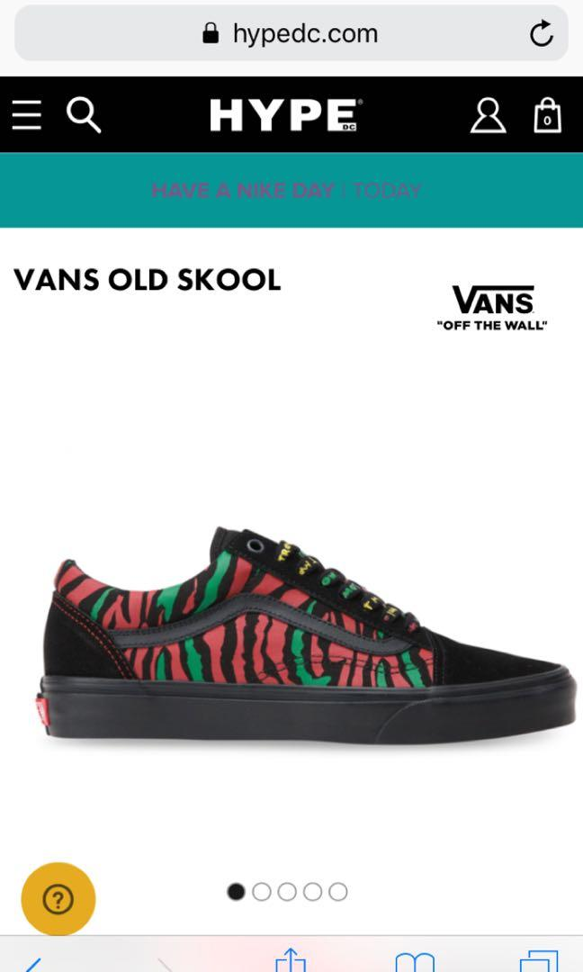 Tribe called quest Vans (limited edition)