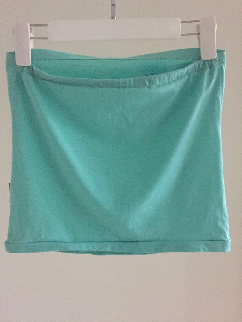 fda7556a54 Tube Top in Mint Colour