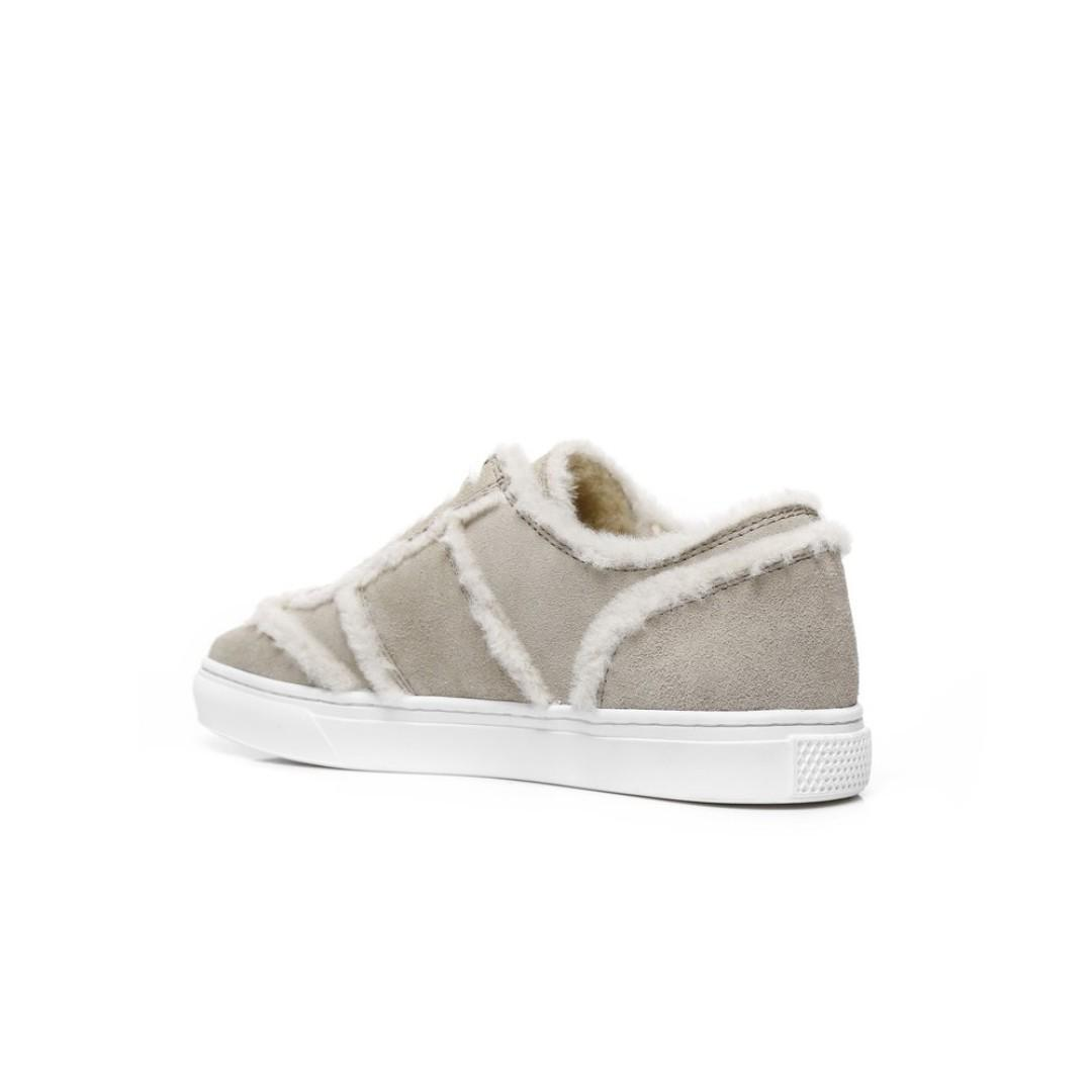 UGG As*Rimmy Sneaker, Ladies Lace Up Shoes, Sheepskin Inner, Suede Upper