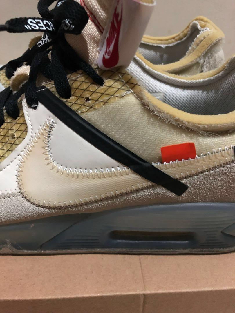 The 10: Nike Air Max 90 'Off White' – sneaker plugz