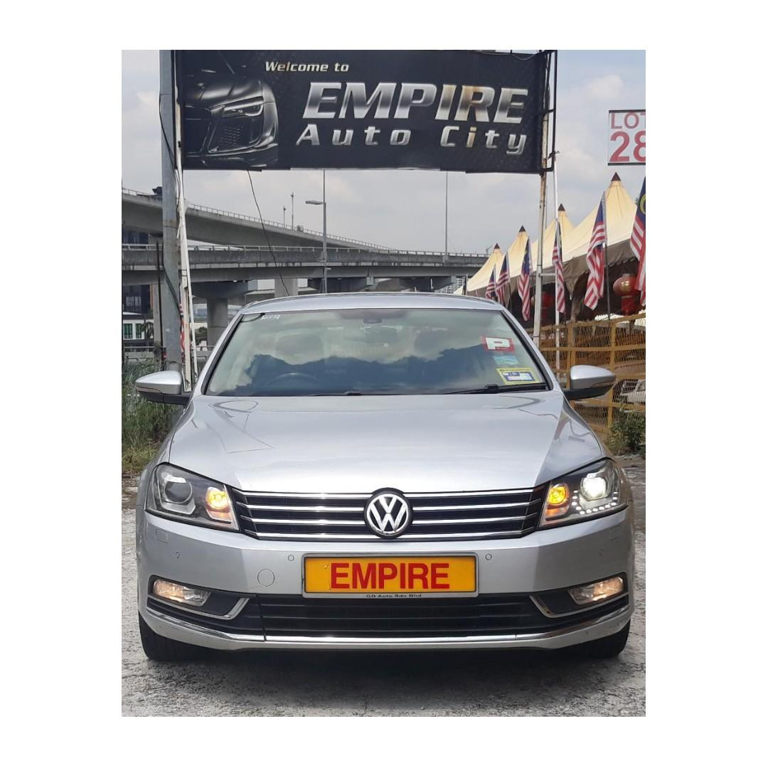VOLKWAGEN PASSAT 1.8 ( A ) TSI TURBO !! SPORT EDITION !! PREMIUM HIGH SPECS THAT COMES WITH PUSH START PADDLE SHIFT AND ETC !! NEW FACELIFT !! ( WX 199 X ) 1 CAREFUL OWNER !!