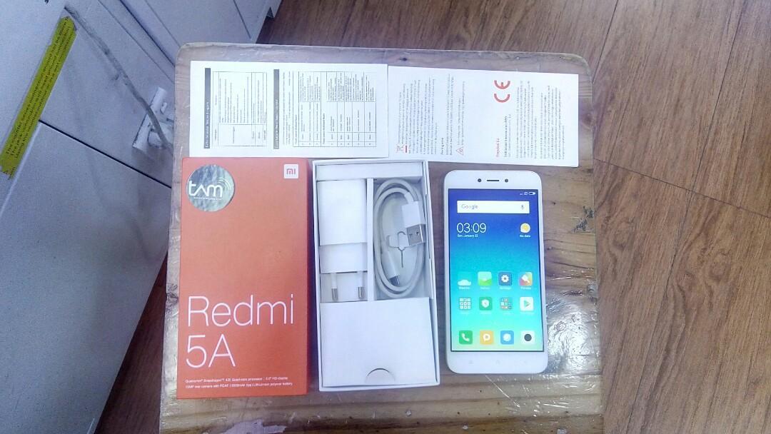 Xiaomi Redmi 5A second 2 bulan pakai