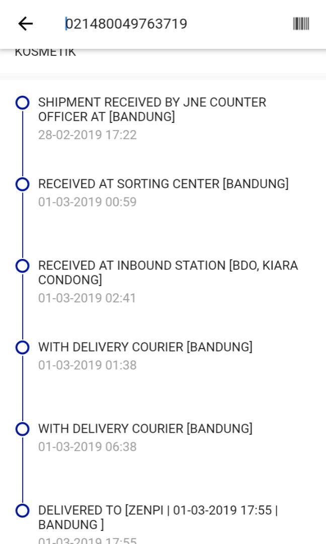 YEAY!! Paket sudah diterima 😍
