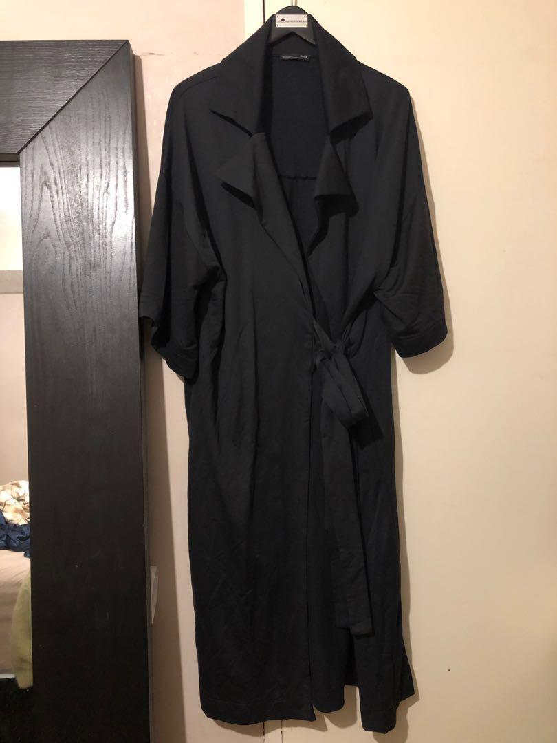 ZARA Oversized black cardigan