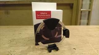 鋁合金出風口重力手機架 不擋冷氣口