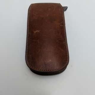 Fossil Watch Case Tempat Jam Tangan Authentic Leather