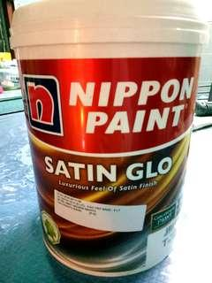 NEW NIPPON PAINT SATIN GLO NIGARA NIGHTS 5LTR