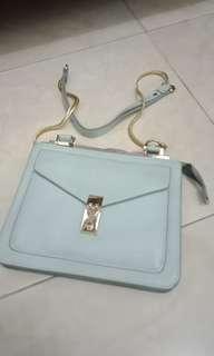 Baby blue bag