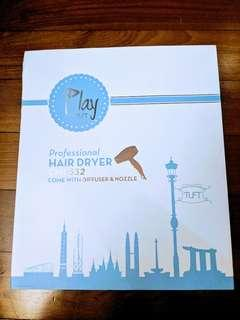 🚚 HAIR DRYER. Play by Tuft Professional Hair Dryer