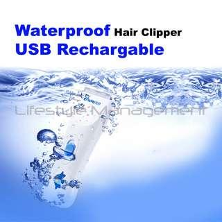 Hair Clipper  Waterproof Wireless Rechargeable Baby Pet Adult Trimmer Shaver