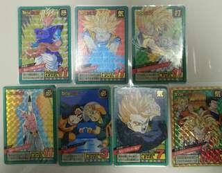 🚚 DragonballZ Cards Superbattle Part 12